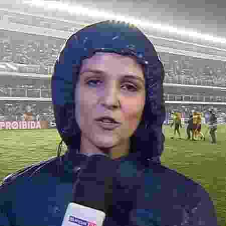 Gláucia Santiago assinou com a ESPN Brasil - Reprodução/SporTV
