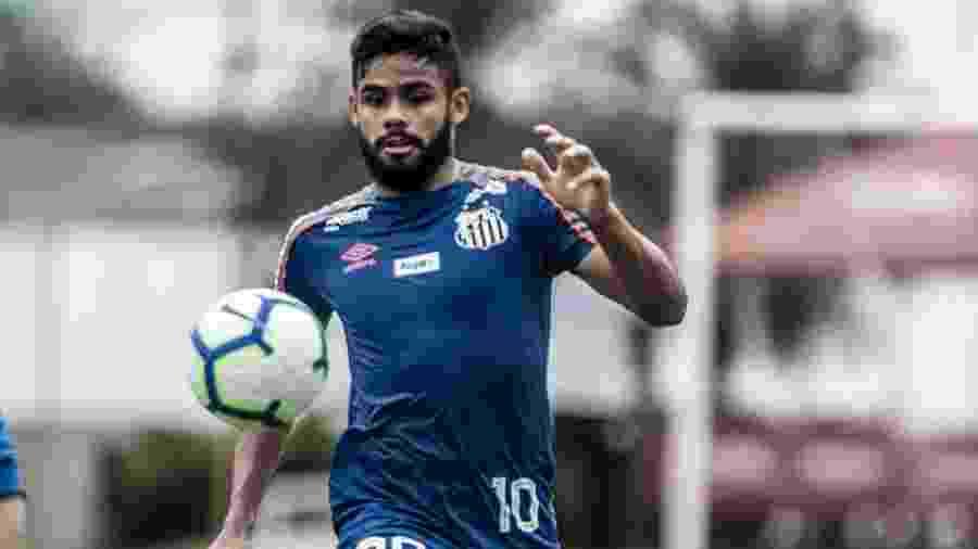 Felipe Jonatan foi o escolhido para substituir Soteldo - Ivan Storti/Santos FC