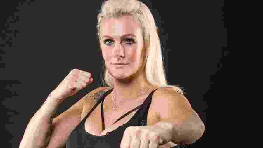 A lutadora Cindy Battlecat Dandois - Reprodução/Instagram