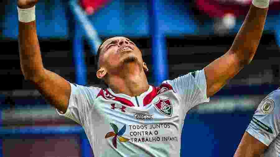Em boa fase, Marcos Paulo é esperança de gols do Fluminense contra o Fortaleza - Pierre Rosa/AGIF