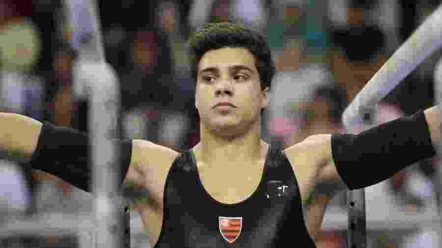 Petrix Barbosa foi campeão brasileiro de ginástica pelo Flamengo em 2012  - Ricardo Bufolin/CBG