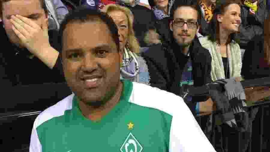 Aílton marcou época com a camisa do Werder Bremen, da Alemanha - Divulgação
