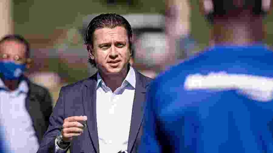 Sérgio Santos Rodrigues, presidente do Cruzeiro, quer votar alienação de imóvel no Conselho Deliberativo - Gustavo Aleixo/Cruzeiro