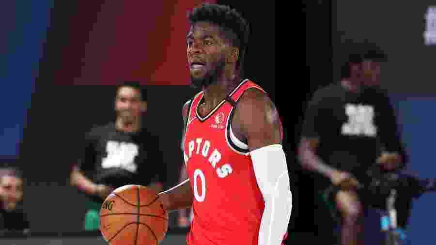 Terence Davis, do Toronto Raptors, foi preso acusado de agressão - Nathaniel S. Butler/NBAE via Getty Images
