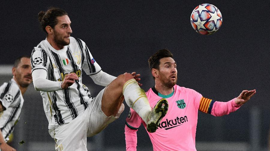 Juventus e Barcelona se enfrentaram em Turim; catalães levaram a melhor e venceram por 2 a 0 -  Chris Ricco/Getty Images