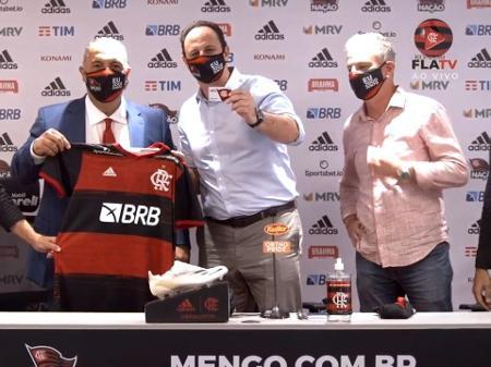 Ceni no Flamengo: técnico chega com aval de Zico e quer 'ganhar tudo'