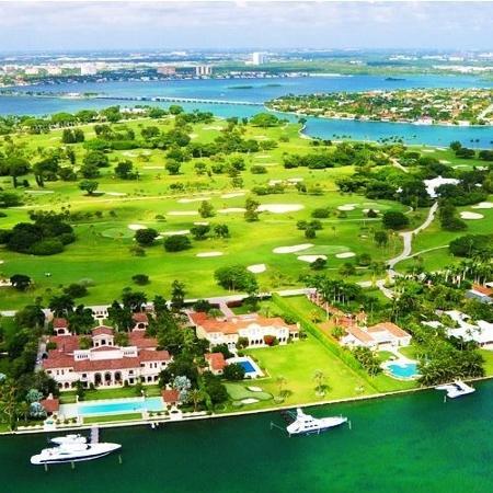 Indian Creek Island: área de Miami onde o casal Brady e Gisele compraram nova mansão - Reprodução