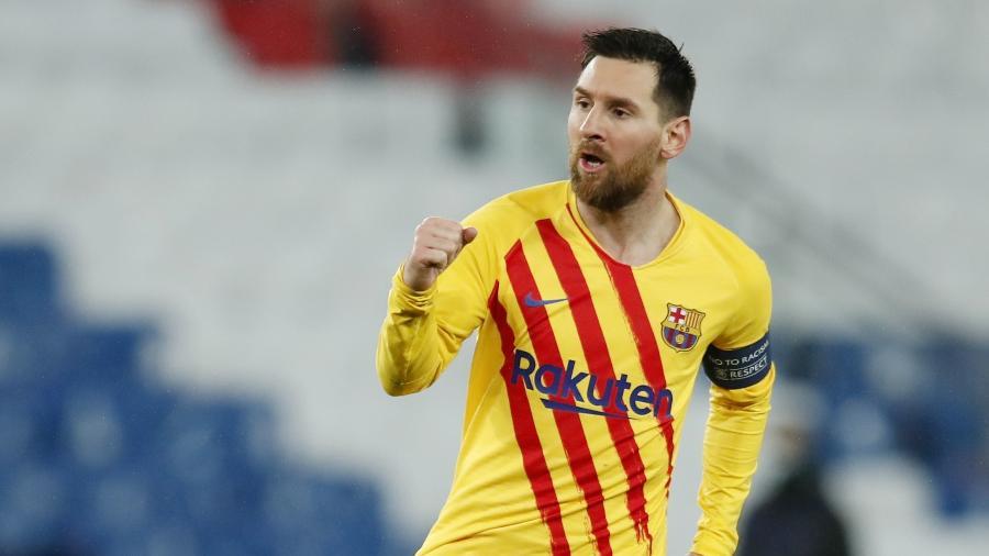 Messi ainda não confirmou seu destino na próxima temporada - REUTERS/Gonzalo Fuentes