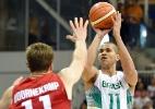 Brasil cala torcida canadense, suporta pressão e leva ouro no basquete - John David Mercer/USA Today Sports