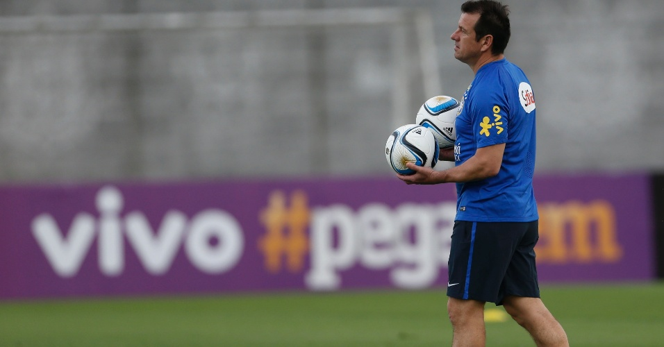 Dunga comandou primeiro treino da seleção brasileira no CT do Corinthians ef01dd43f6d2f