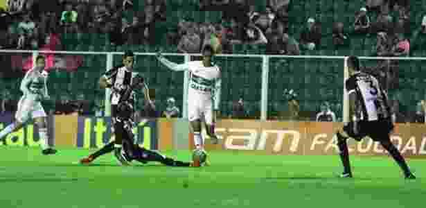 Coritiba cresceu no segundo tempo, mas partida terminou 0 a 0 - Coritiba FC/Divulgação - Coritiba FC/Divulgação