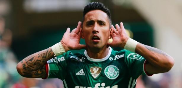 Barrios mostrou evolução na reapresentação do Palmeiras