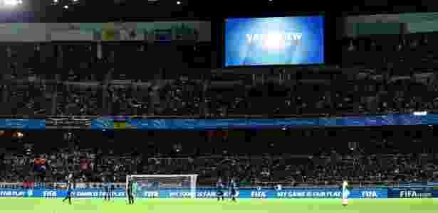 Ferramenta foi usada no Mundial de Clubes, mas causou polêmica - Kim Kyung-Hoon/Reuters
