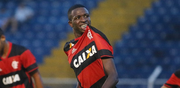 Vinicius Júnior é a principal promessa das categorias de base do Flamengo