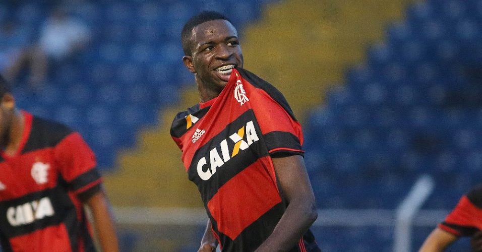 Vinicius Júnior é a principal promessa das categorias de base do Flamengo