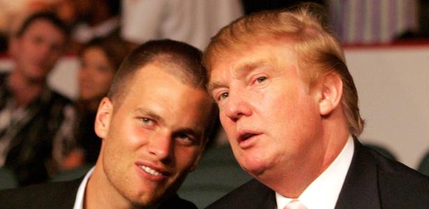 Tom Brady é amigo de Donald Trump, mas não estará na cerimônia na Casa Branca