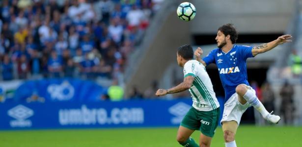 Hudson se lesionou na vitória do Cruzeiro sobre o Palmeiras