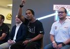 Campanha beneficente sorteia um dia na casa de Ronaldinho