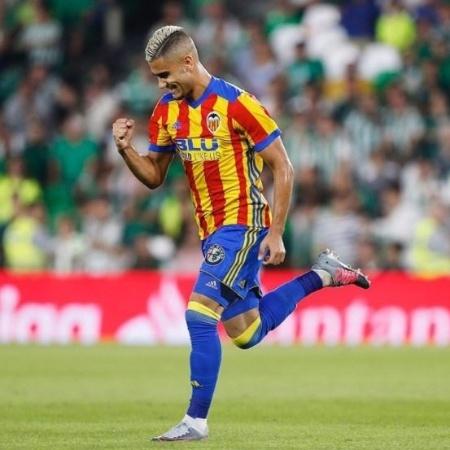 Andreas Pereira, do Valencia - Reprodução/Instagram