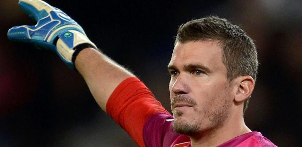 Nicolas Douchez, ex-goleiro do PSG e atualmente no Lens