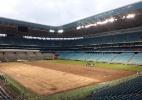 Arena do Grêmio troca gramado após reclamações de Renato e jogadores - Reprodução