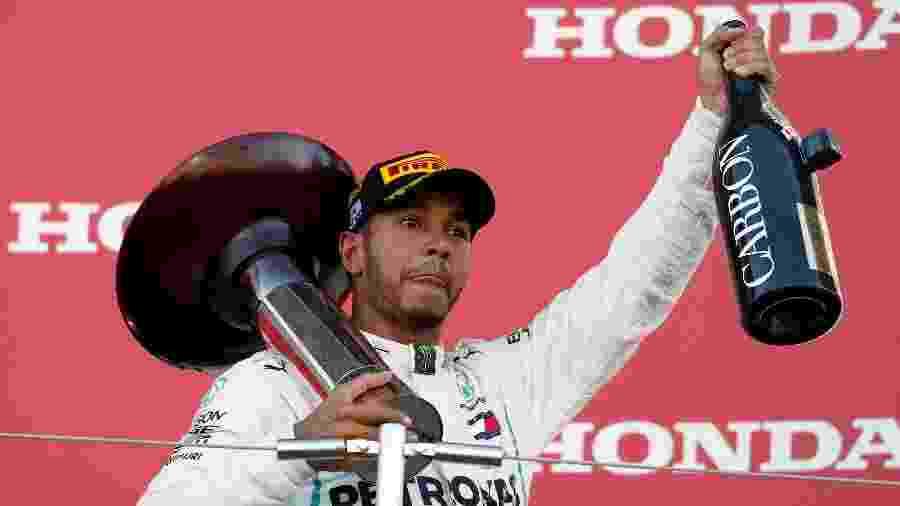 Inglês da Mercedes pode se sagrar campeão já na próxima corrida, nos EUA - Issei Kato/Reuters