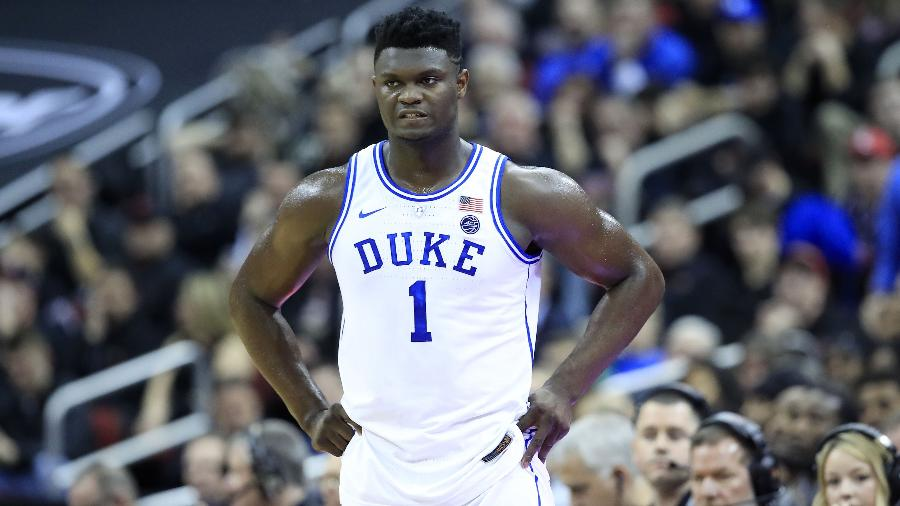 Zion Williamson é uma das principais promessas do basquete universitário - Andy Lyons/Getty Images/AFP
