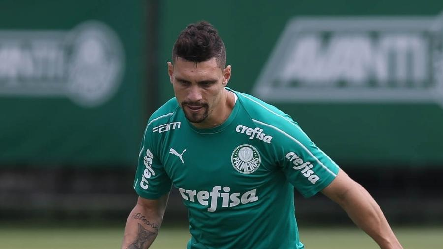 Moisés estará à disposição de Felipão para o clássico - César Greco/Palmeiras