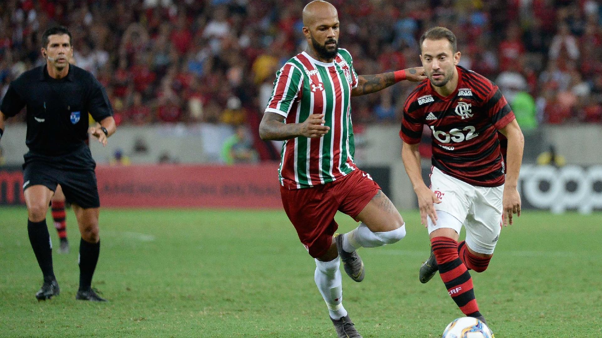 Bruno Silva Everton Ribeiro Fluminense Flamengo Campeonato Carioca