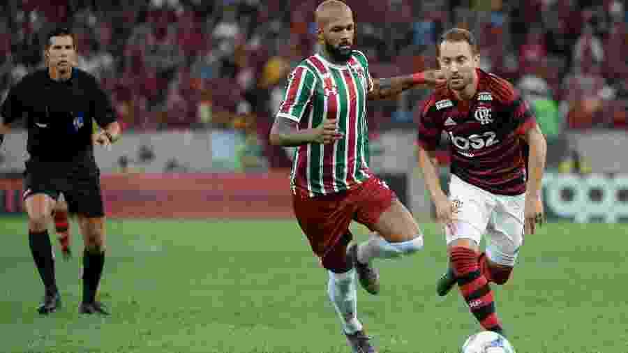 Bruno Silva rescindiu com Fluminense e é aguardado até o fim da semana no Sul - Alexandre Vidal/Flamengo