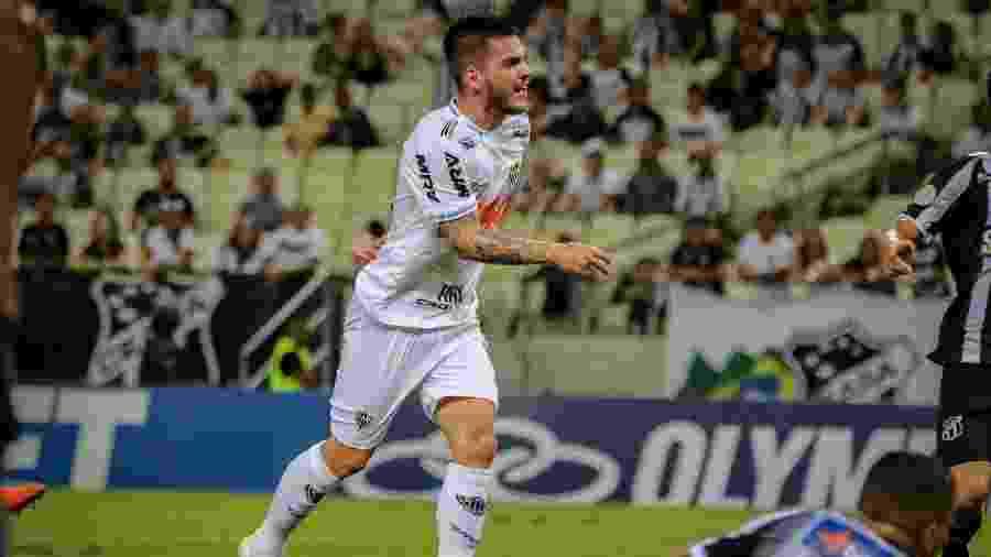 Nathan passou a ter mais oportunidades com Rodrigo Santana no Atlético-MG - Pedro Souza / Atlético