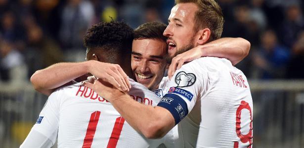 Jogo para 'cumprir tabela' | Eliminatórias Euro 2020: Inglaterra vence o Kosovo por 4 a 0