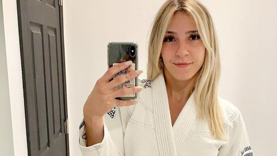 Patrícia Fontes, lutadora de jiu-jítsu - Reprodução/Instagram