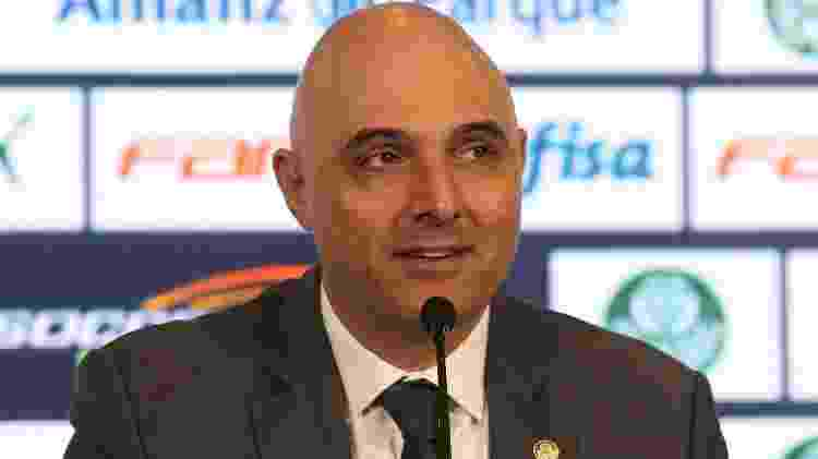Palmeiras Mauricio Galiotte - Cesar Greco/Ag. Palmeiras - Cesar Greco/Ag. Palmeiras