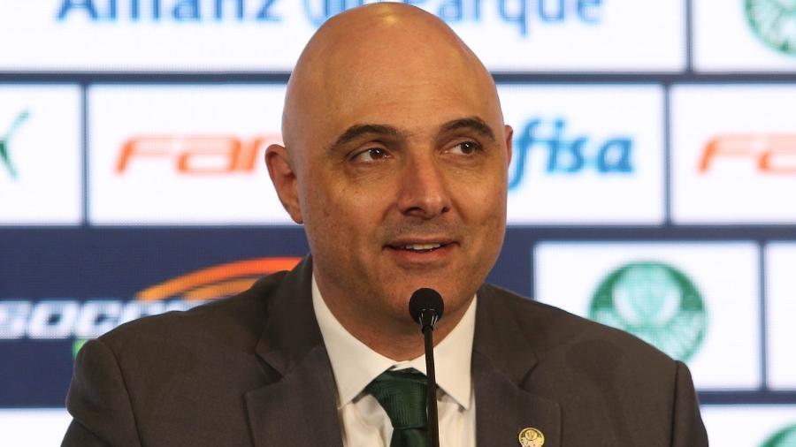 Maurício Galiotte testou negativo para o novo coronavírus - Cesar Greco/Ag. Palmeiras