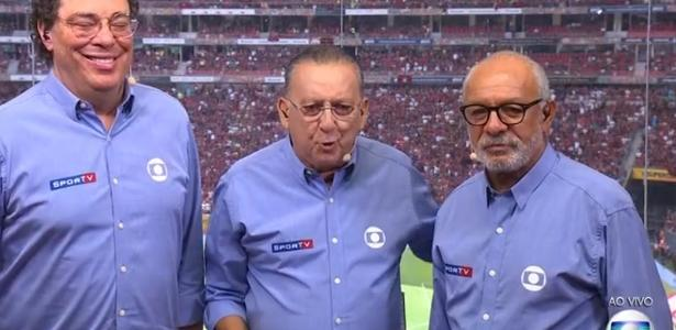 Galvão e Casagrande chamam Furacão de Atlético-MG e web não perdoa