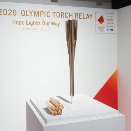 Tocha Olímpica dos Jogos de Tóquio - Yichuan Cao/NurPhoto via Getty Images