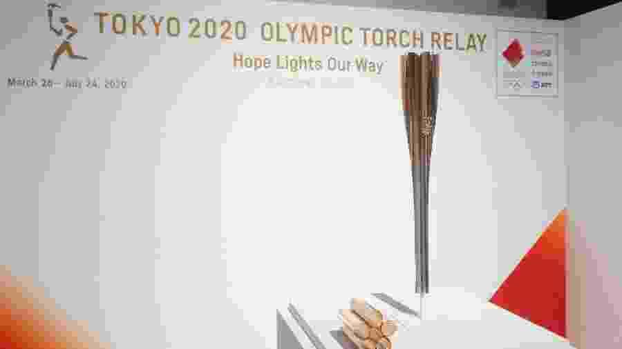 Tocha Olímpica dos Jogos Olímpicos de Tóquio - Yichuan Cao/NurPhoto via Getty Images