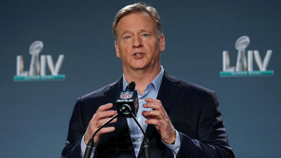 Comissário da NFL, Roger Goodell - Kirby Lee/USA Today Sports