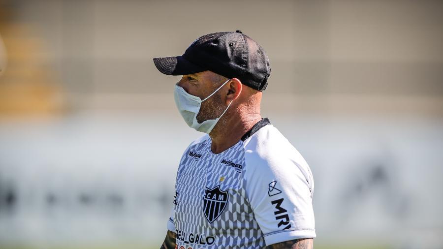 Jorge Sampaoli, treinador do Atlético-MG, pediu contratação de mais um goleiro no elenco - Bruno Cantini/Atlético-MG