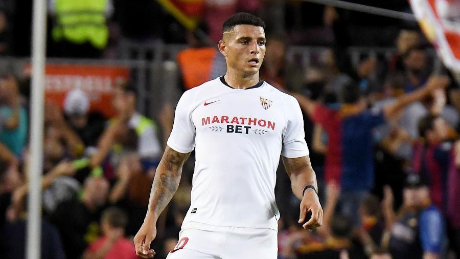Diego Carlos, do Sevilla, está na mira de vários gigantes do futebol europeu - Getty Images