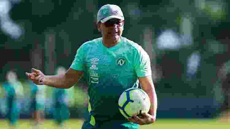 Umberto Louzer acerta com o Cruzeiro após boa campanha na Série B pela Chapecoense - Divulgação/Chapecoense - Divulgação/Chapecoense