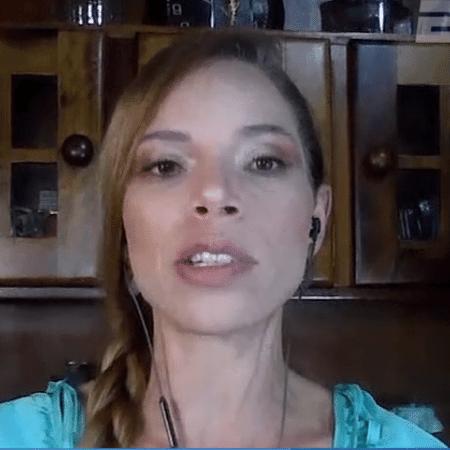 Renata Ruel, comentarista de arbitragem dos canais ESPN - Reprodução/ESPN Brasil