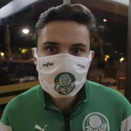Raphael Veiga analisa gol de letra e elogia Lucas Lima - Reprodução/YouTube