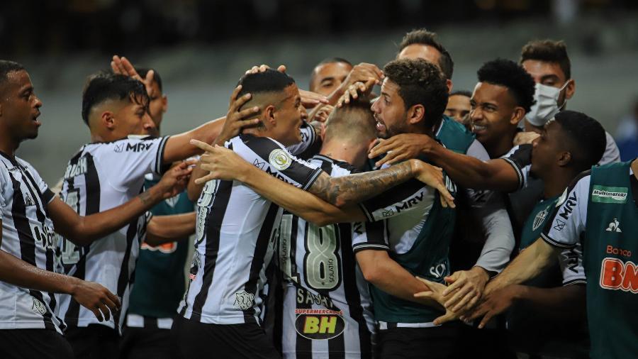 Maior sequência de vitórias do Galo no Brasileiro aconteceu justamente contra os adversários atuais no primeiro turno - Pedro Souza/Atlético-MG