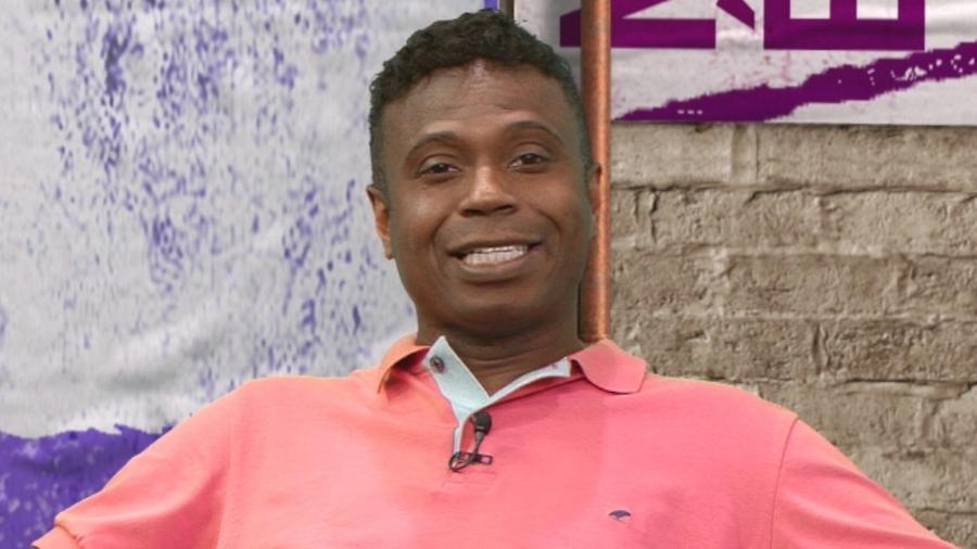 Edílson Capetinha, comentarista da TV Band - Reprodução/Band
