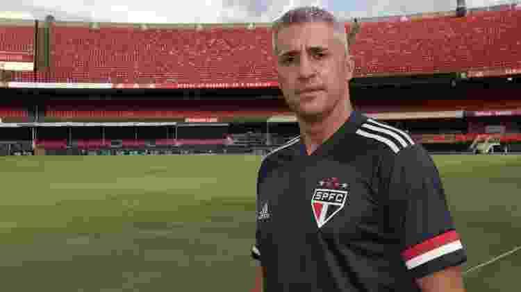 Hernán Crespo - Divulgação/SPFC - Divulgação/SPFC