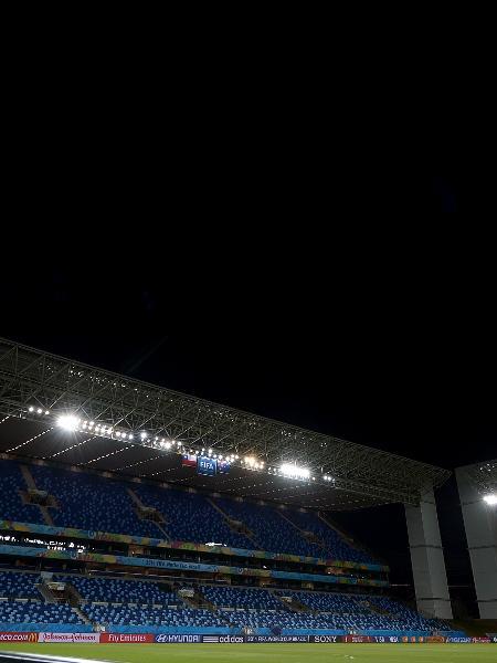 Arena Pantanal, que receberá cinco jogos da Copa América de 2021 - Getty Images