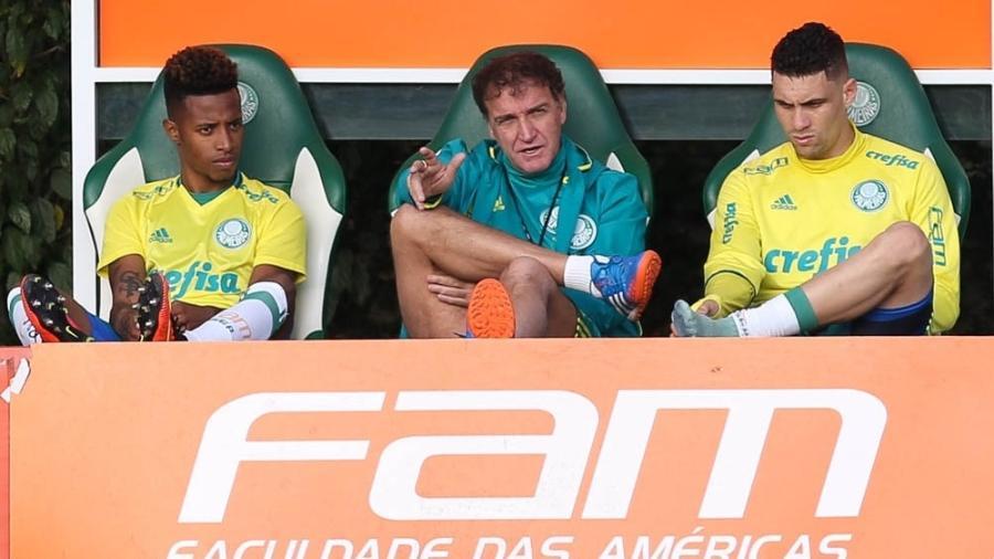 Tchê Tchê foi jogador de Cuca no Palmeiras, São Paulo e pode atuar agora no Galo - César Greco/Palmeiras