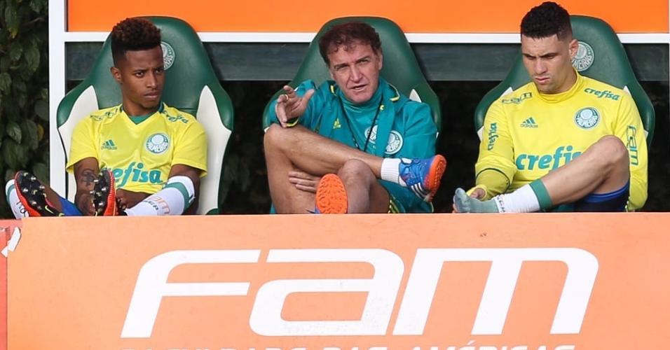 Tchê Tchê foi jogador de Cuca no Palmeiras, São Paulo e pode atuar agora no Galo